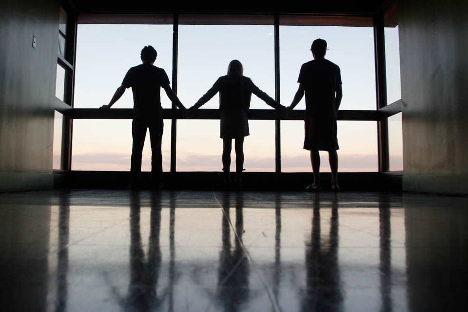 polyamory silhouette