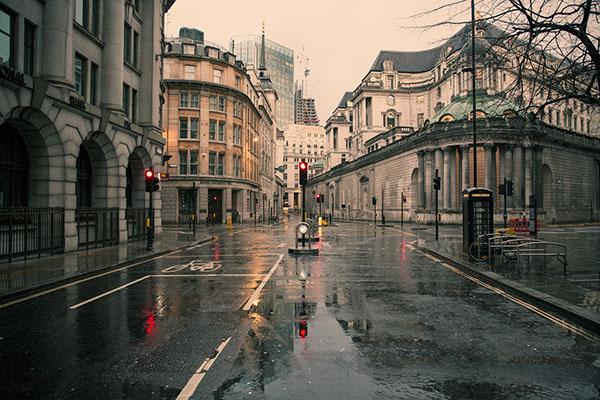 empty london