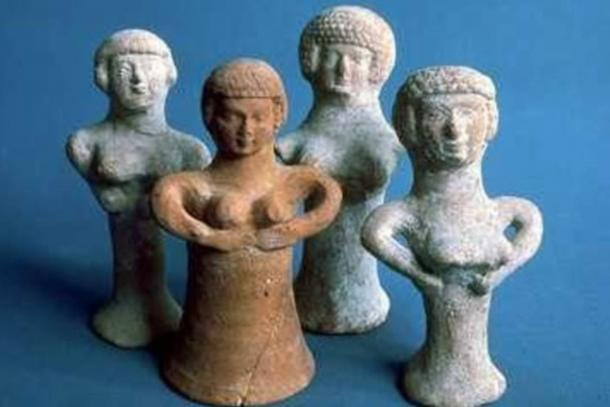 Asherah-figurines